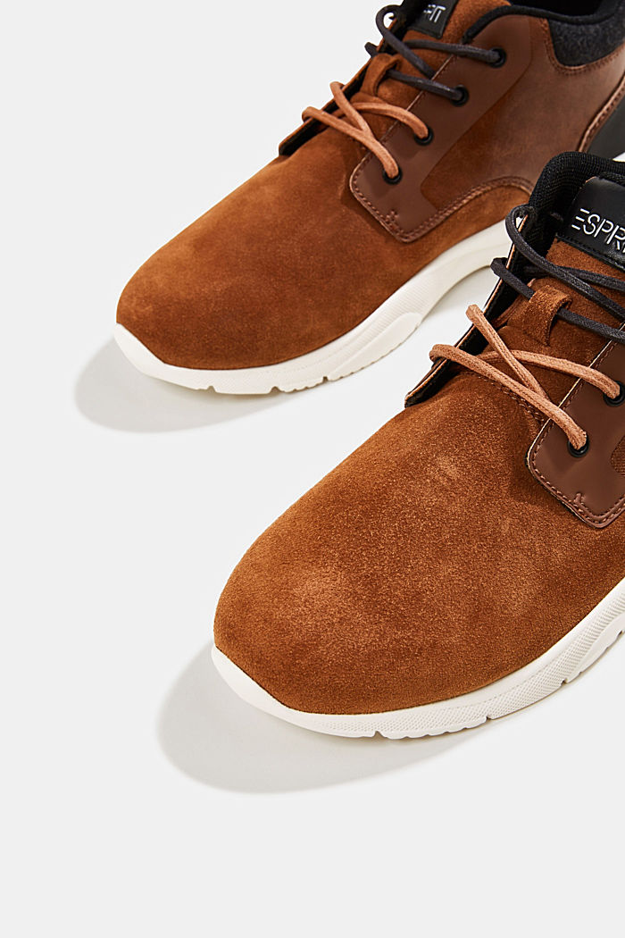Including leather: Trainer ankle boots, TOFFEE, detail image number 4