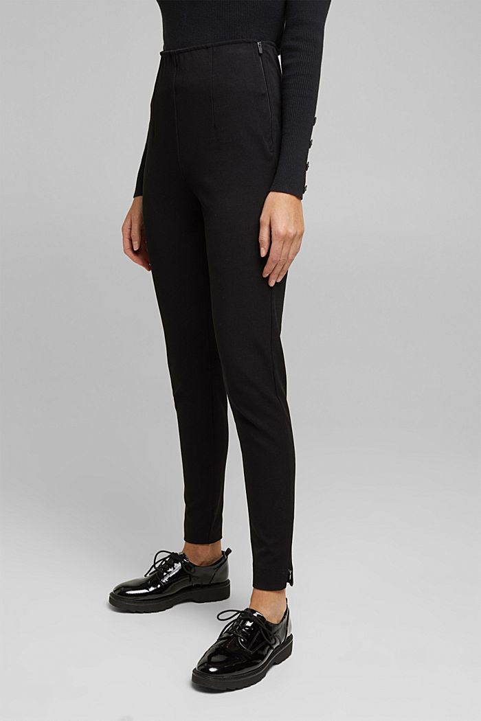 Two-way stretch trousers with LENZING™ ECOVERO™