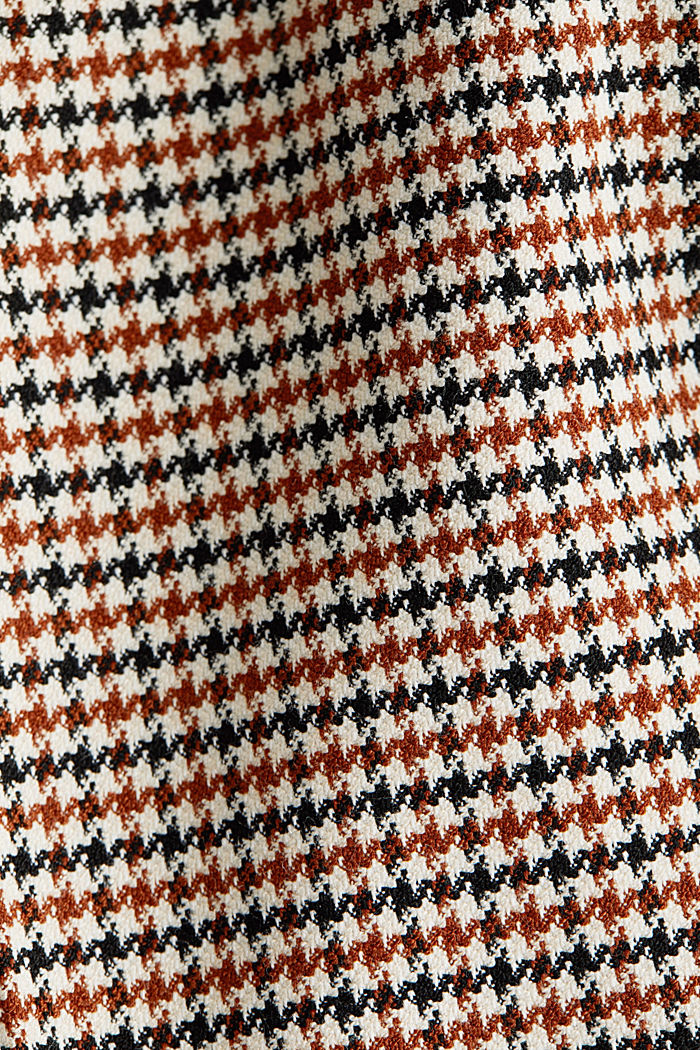 HOUNDSTOOTH: Mix + Match trousers, TOFFEE, detail image number 4