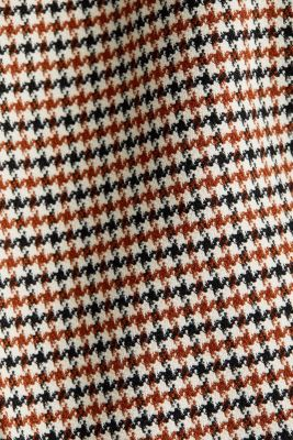 HOUNDSTOOTH: Mix + Match trousers, TOFFEE, detail