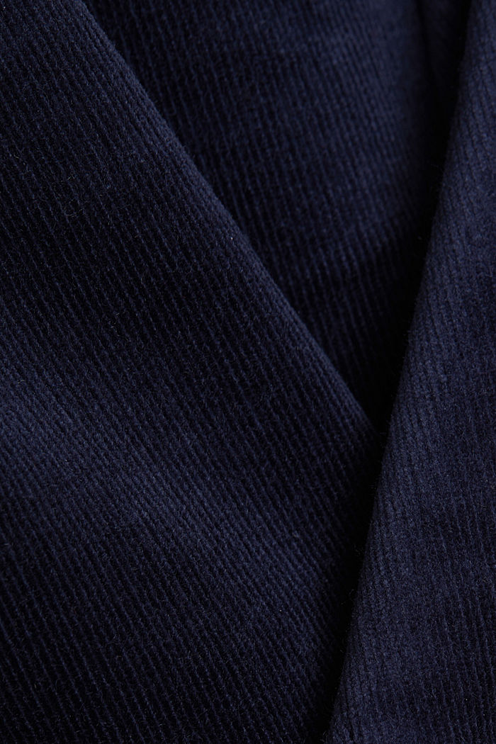 Soft needlecord trousers with stretch, NAVY, detail image number 4