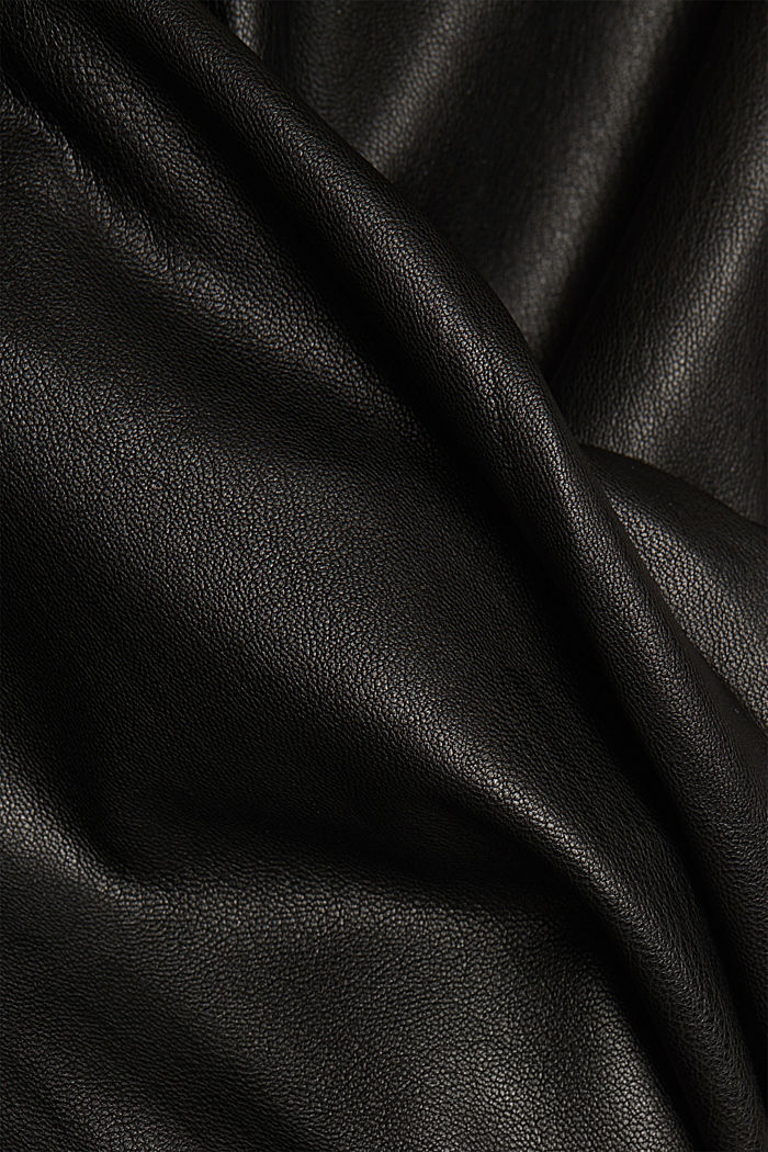 Faux leather trousers, BLACK, detail image number 4
