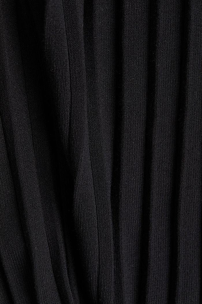 Skirt made of LENZING™ ECOVERO™, BLACK, detail image number 4