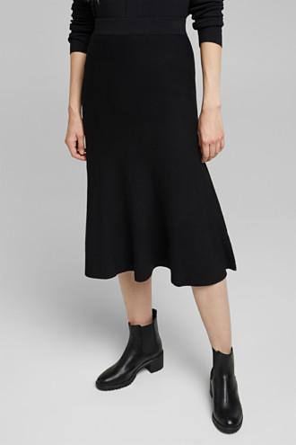Knitted skirt made of LENZING™ ECOVERO™