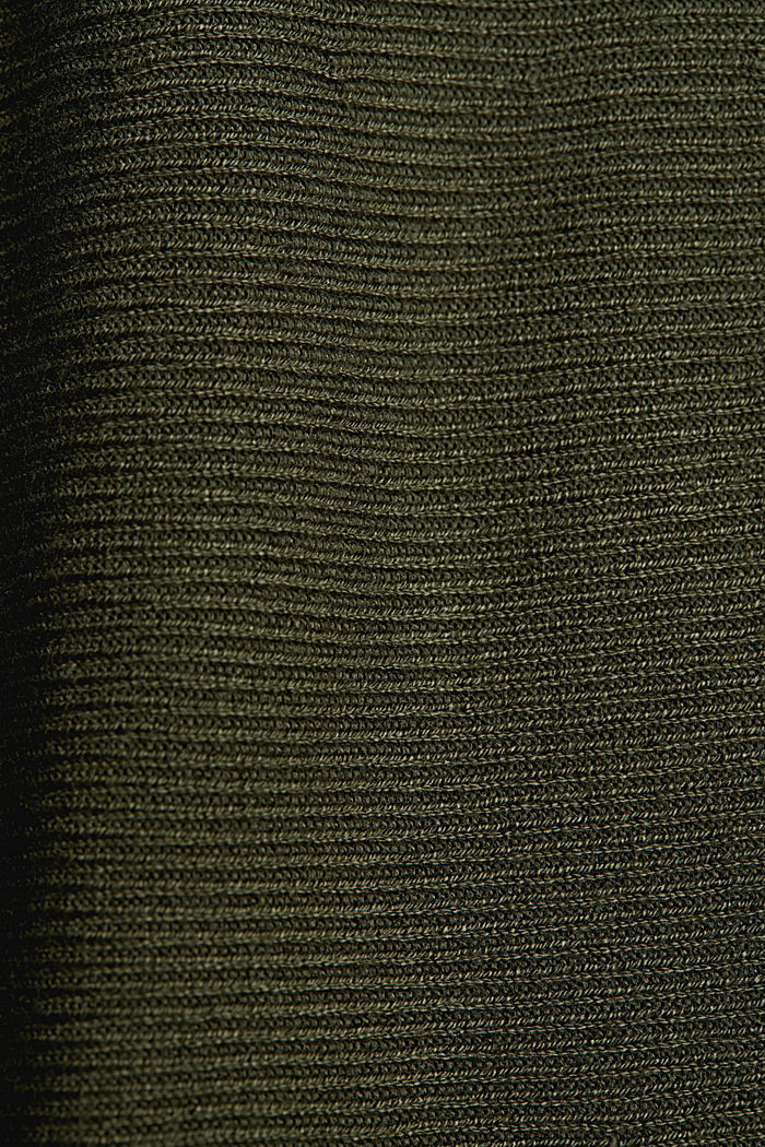 Knitted skirt made of LENZING™ ECOVERO™, KHAKI GREEN, detail image number 4