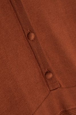Midi knit dress with LENZING™ ECOVERO™, TOFFEE, detail