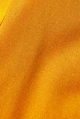 Satin blouse made of LENZING™ ECOVERO™, HONEY YELLOW, detail