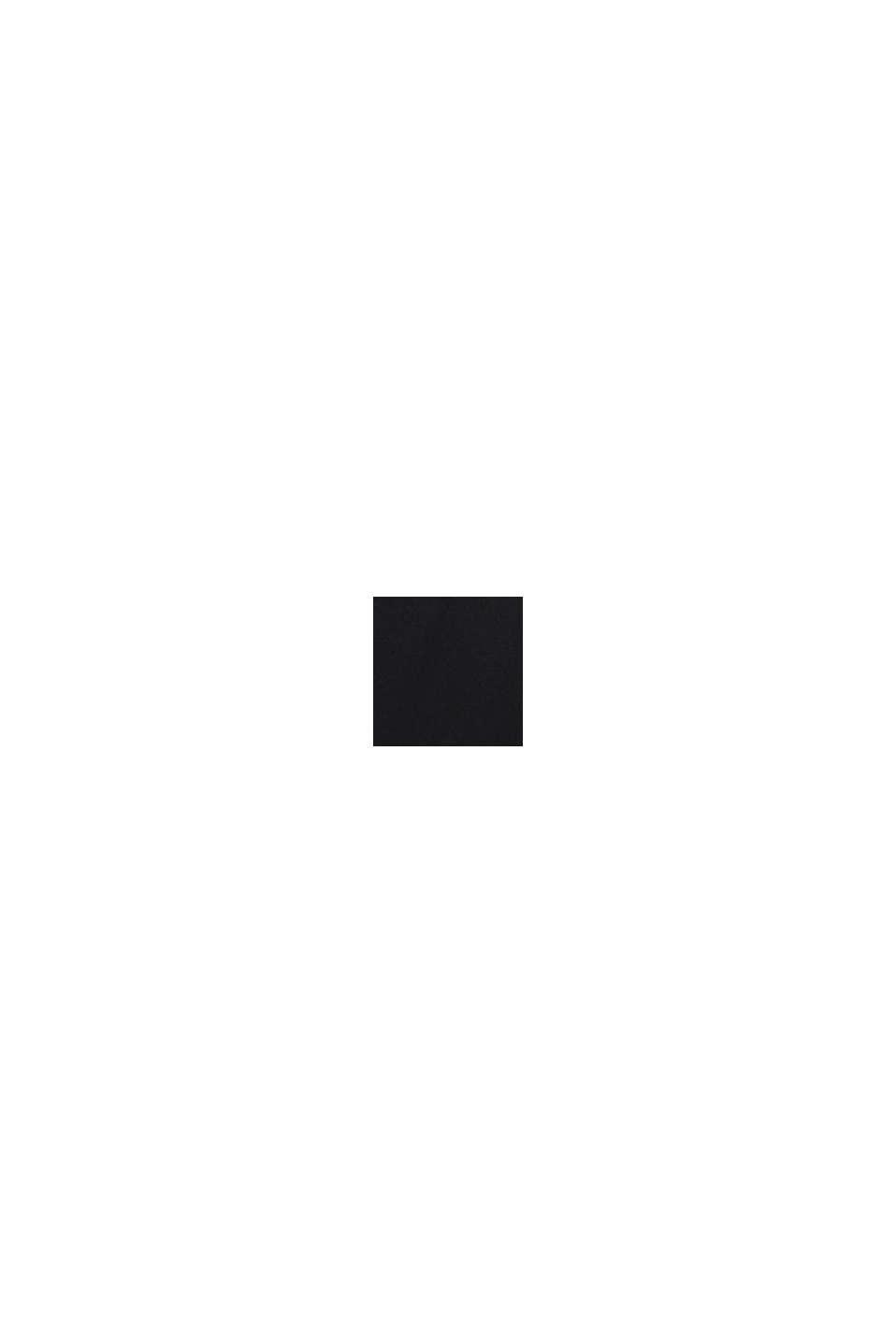 Blusen-Top mit LENZING™ ECOVERO™, BLACK, swatch
