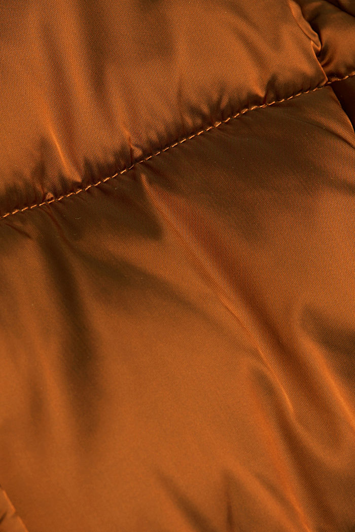Recycled: jacket featuring 3M™ Thinsulate™, TOFFEE, detail image number 4