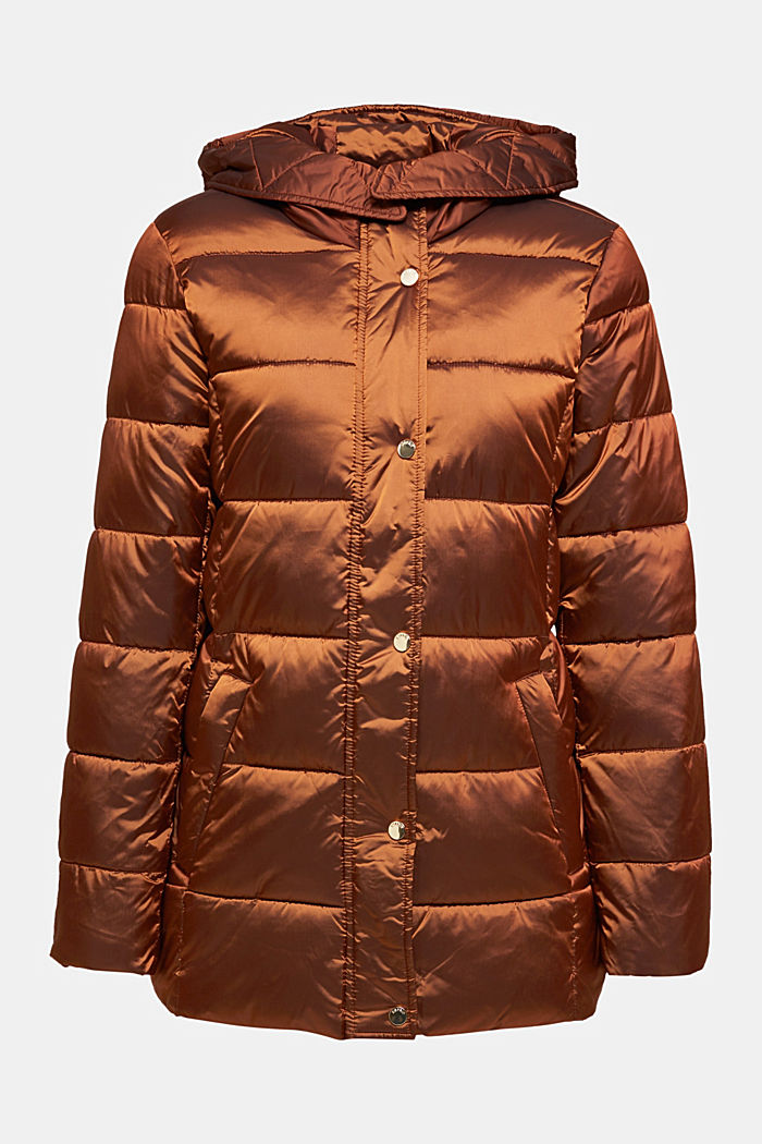 Recycled: jacket featuring 3M™ Thinsulate™, TOFFEE, detail image number 7