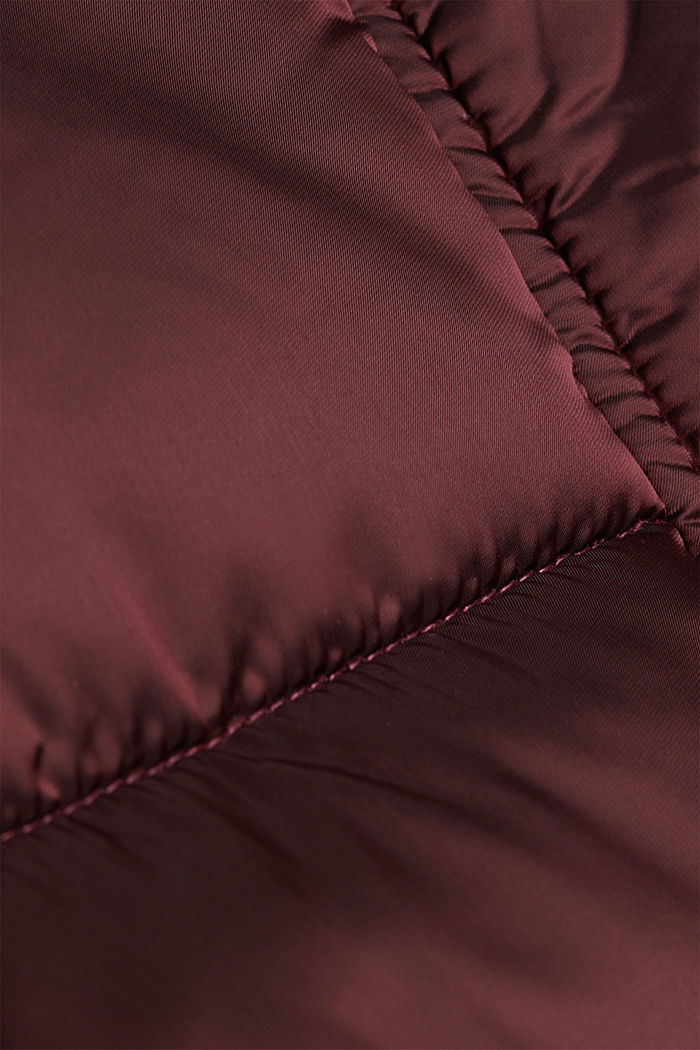 Recycled: jacket featuring 3M™ Thinsulate™, BORDEAUX RED, detail image number 4