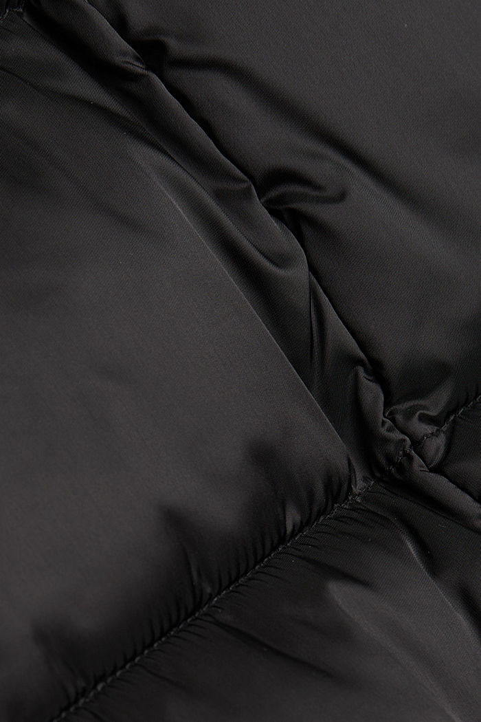 Recycelt: Mantel mit 3M™Thinsulate™, BLACK, detail image number 4