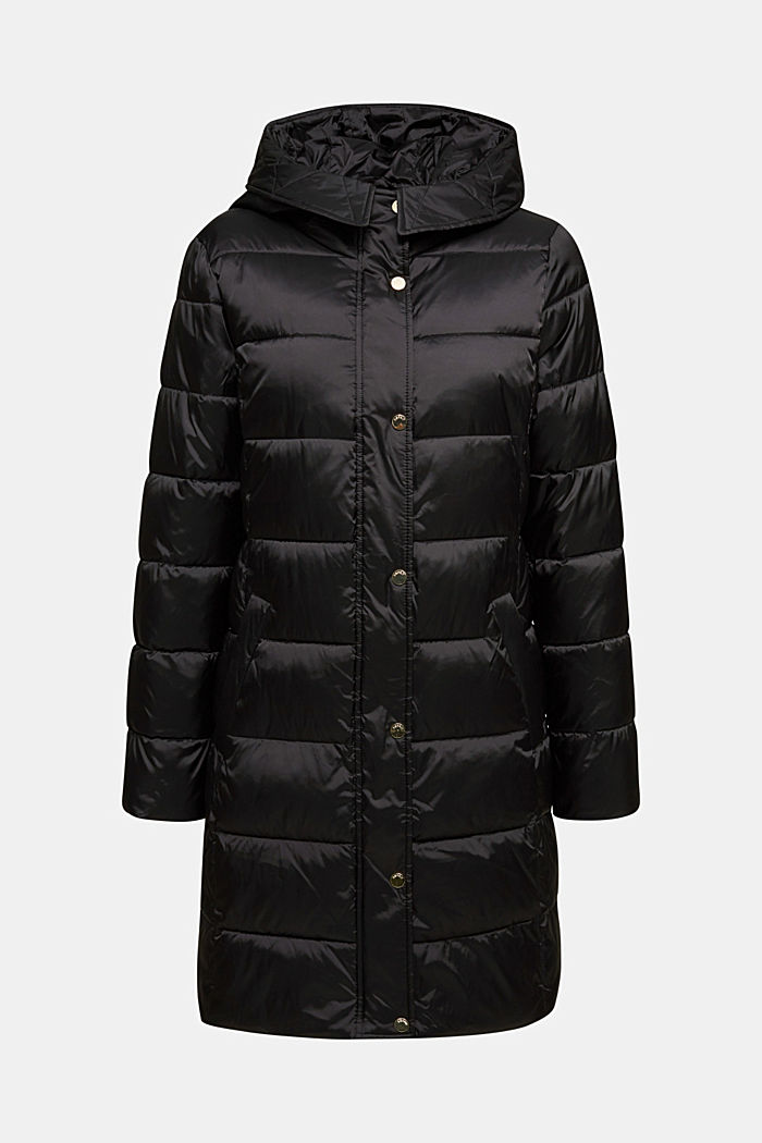 Recycled: coat featuring 3M™ Thinsulate™, BLACK, overview