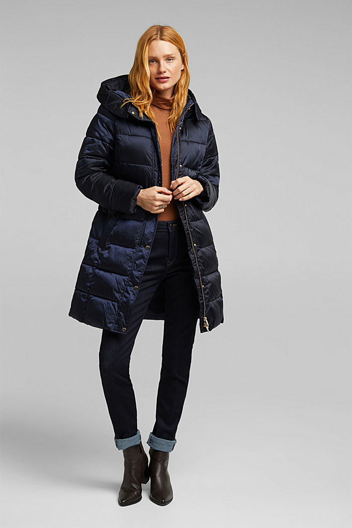 Recycled: coat featuring 3M™ Thinsulate™, NAVY, detail image number 1