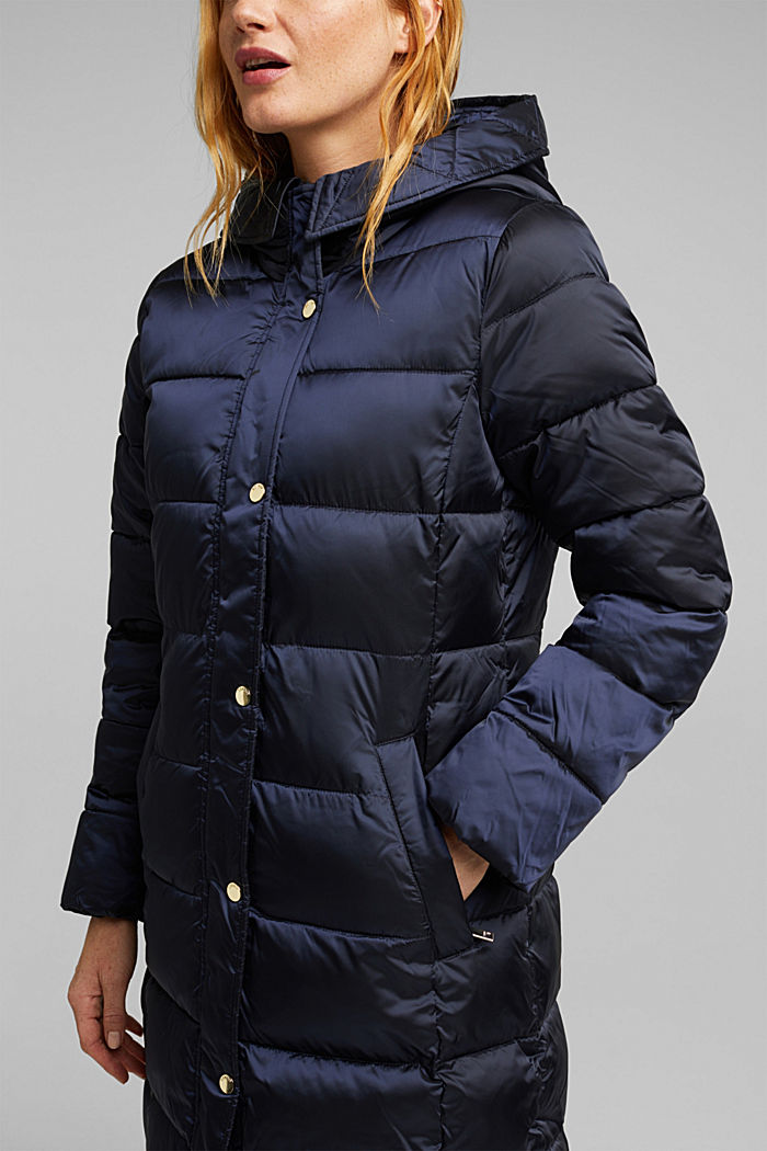 Recycled: coat featuring 3M™ Thinsulate™, NAVY, detail image number 2