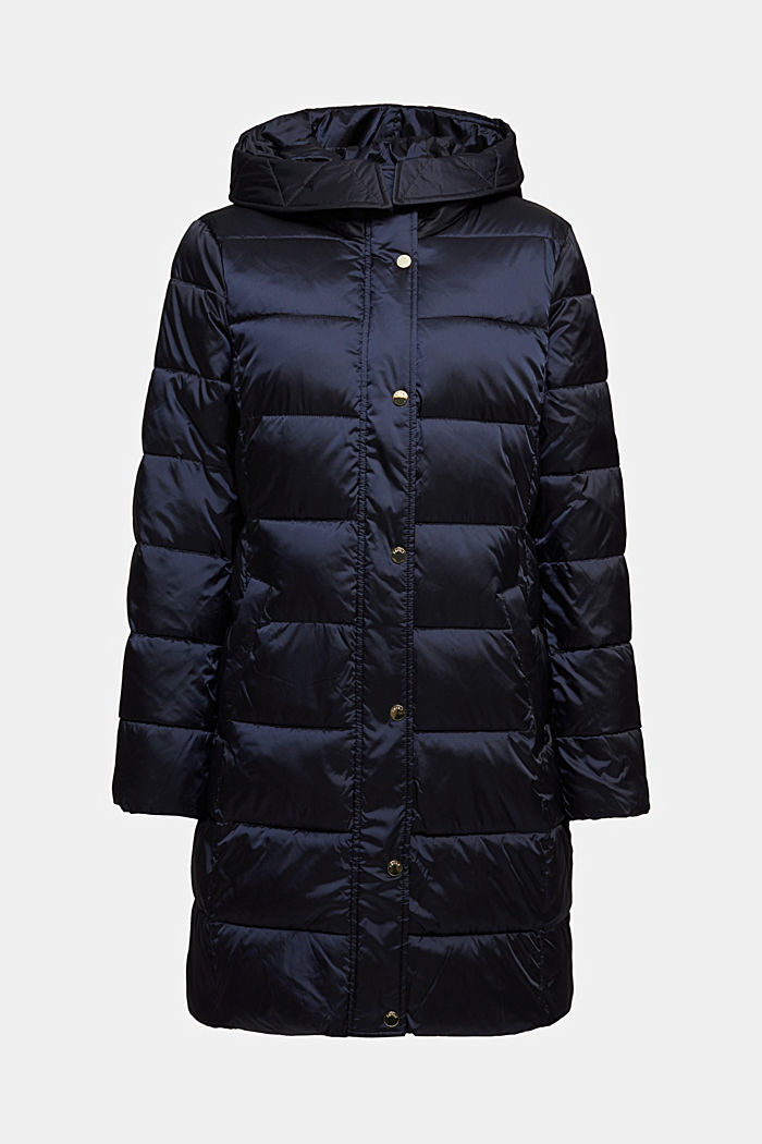 Recycled: coat featuring 3M™ Thinsulate™, NAVY, detail image number 7