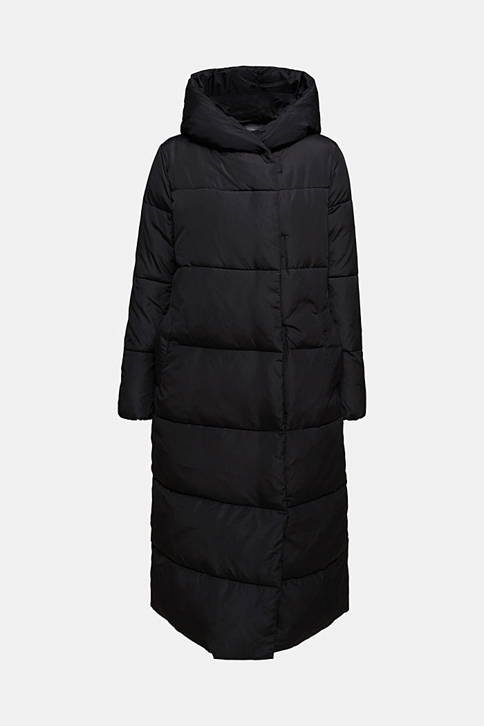 Recycled: coat featuring 3M™ Thinsulate™, BLACK, detail image number 6