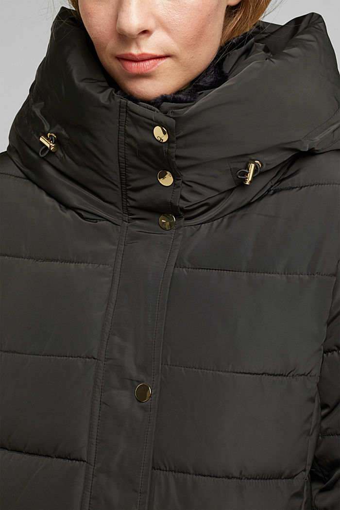 Mantel mit 3M™Thinsulate™-Füllung, DARK TEAL GREEN, detail image number 2