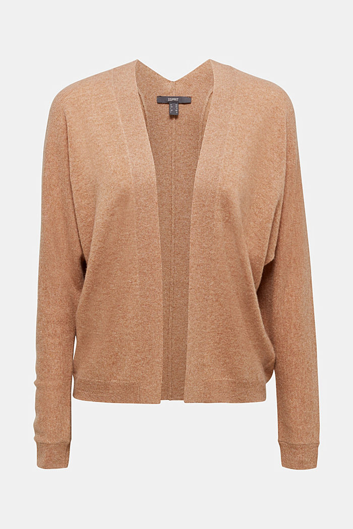 Cardigan made of 100% cashmere, CAMEL, detail image number 5