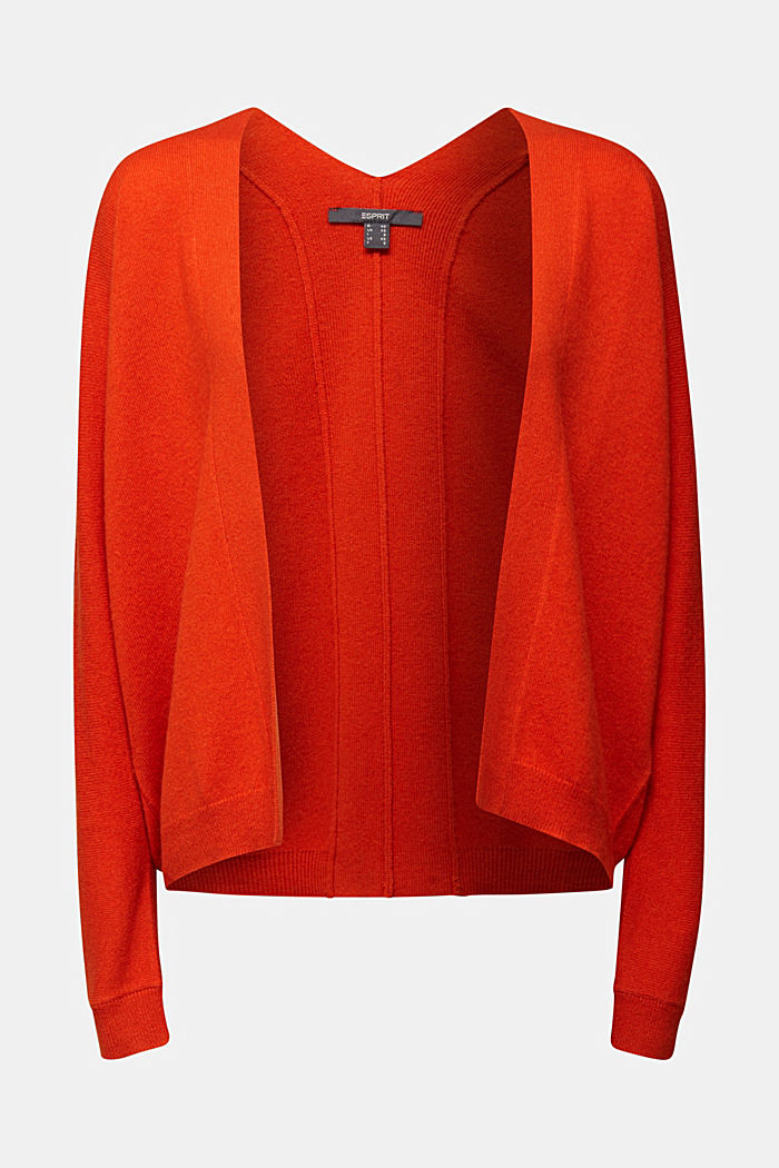 Cardigan made of 100% cashmere, RUST ORANGE, detail image number 6