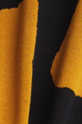 100% cotton jumper, BLACK, detail