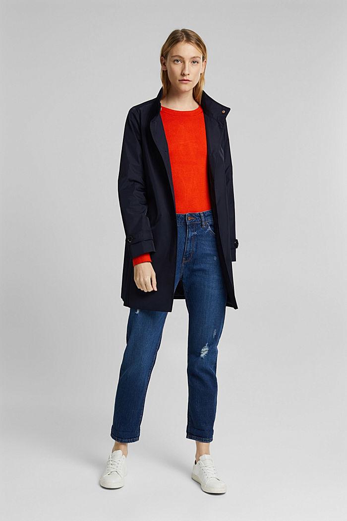 Pullover mit  LENZING™ ECOVERO™, RUST ORANGE, detail image number 1