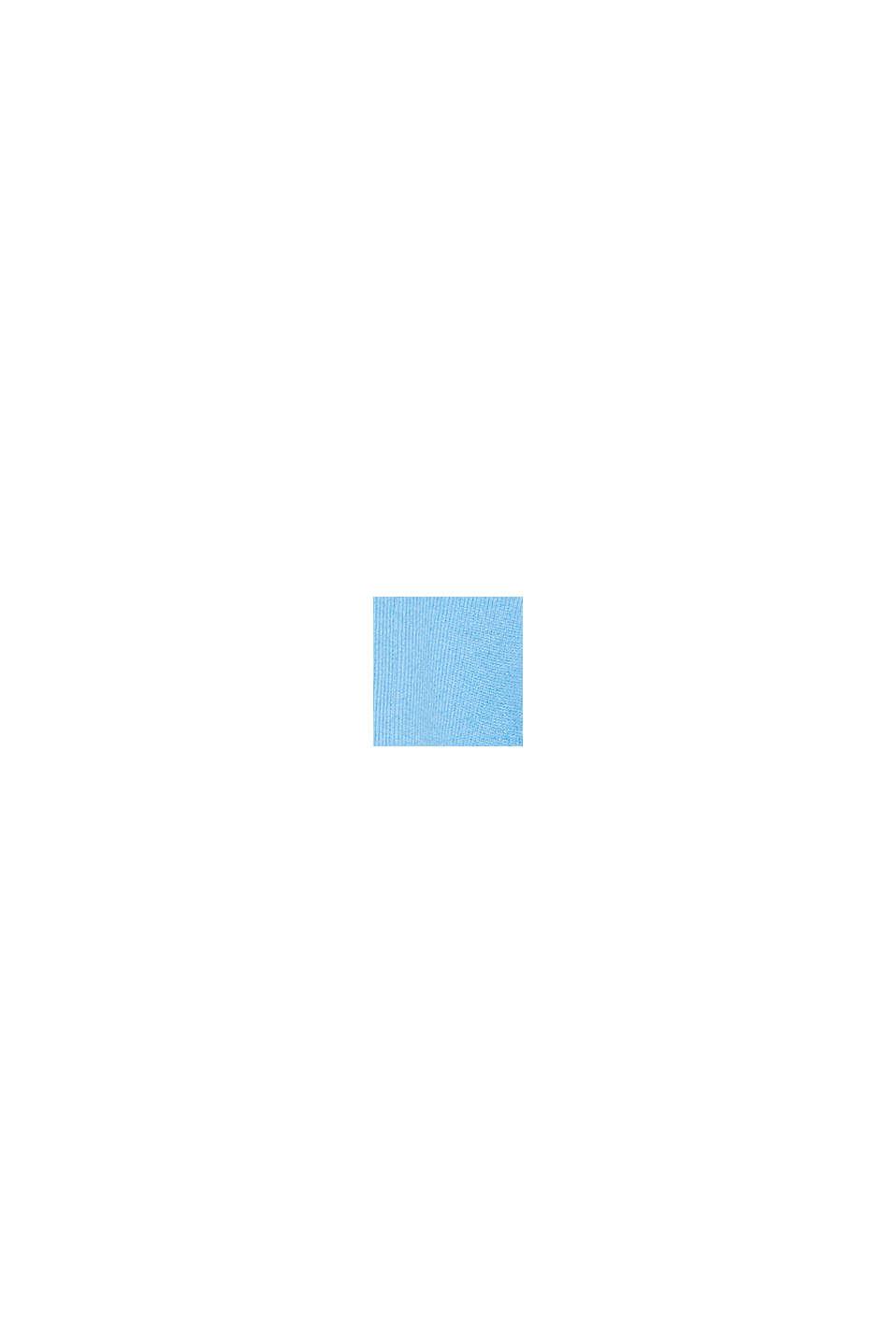 Offener Cardigan aus 100% Kaschmir, BLUE, swatch