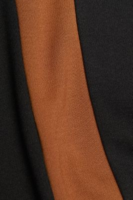 Jersey top with LENZING™ ECOVERO™, TOFFEE, detail