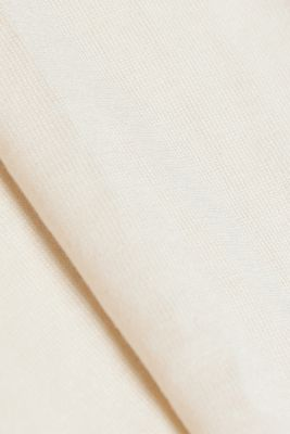 Long sleeve top made of LENZING™ ECOVERO™, SAND, detail