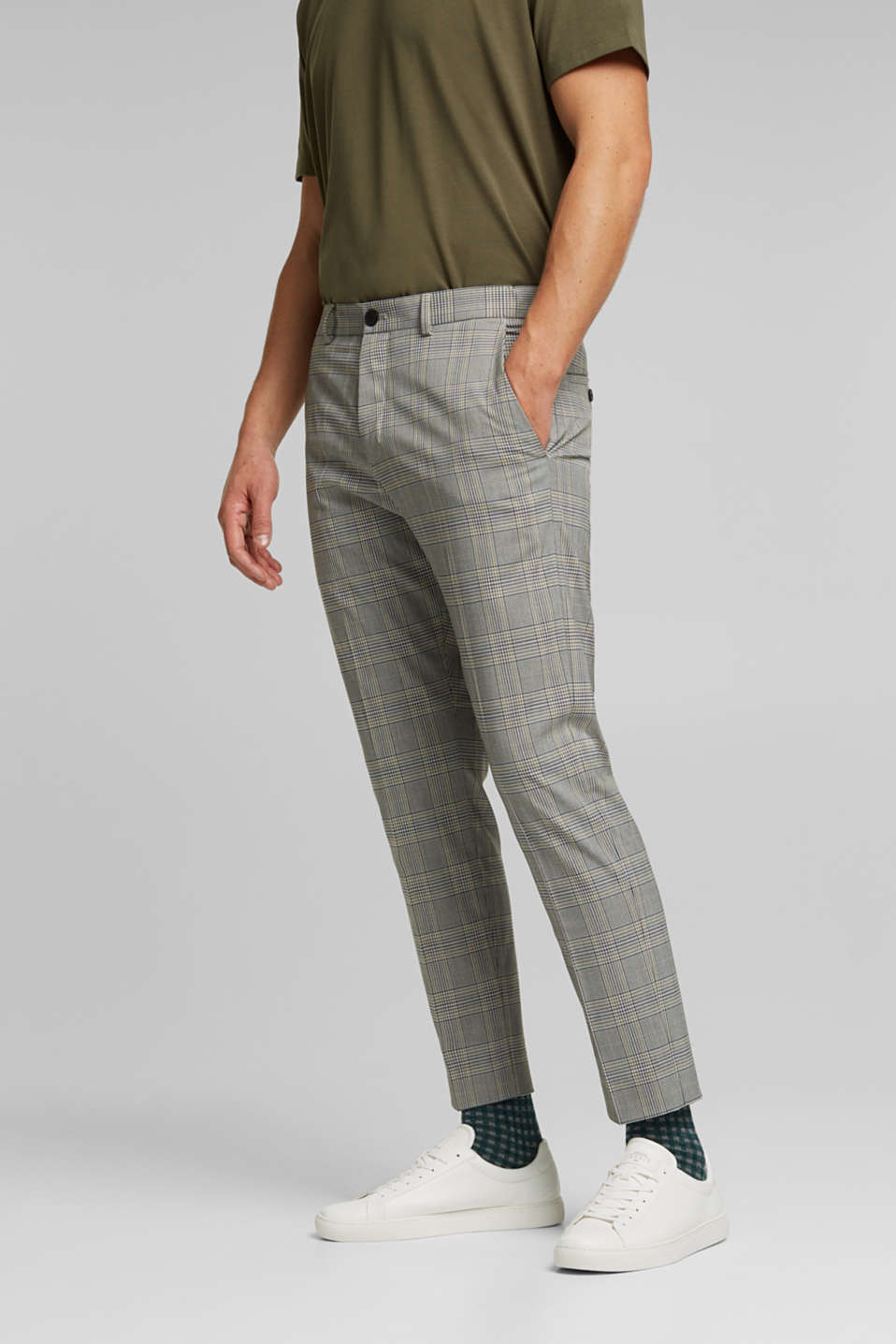 Esprit - Mix + Match CARREAUX PRINCE DE GALLES : le pantalon