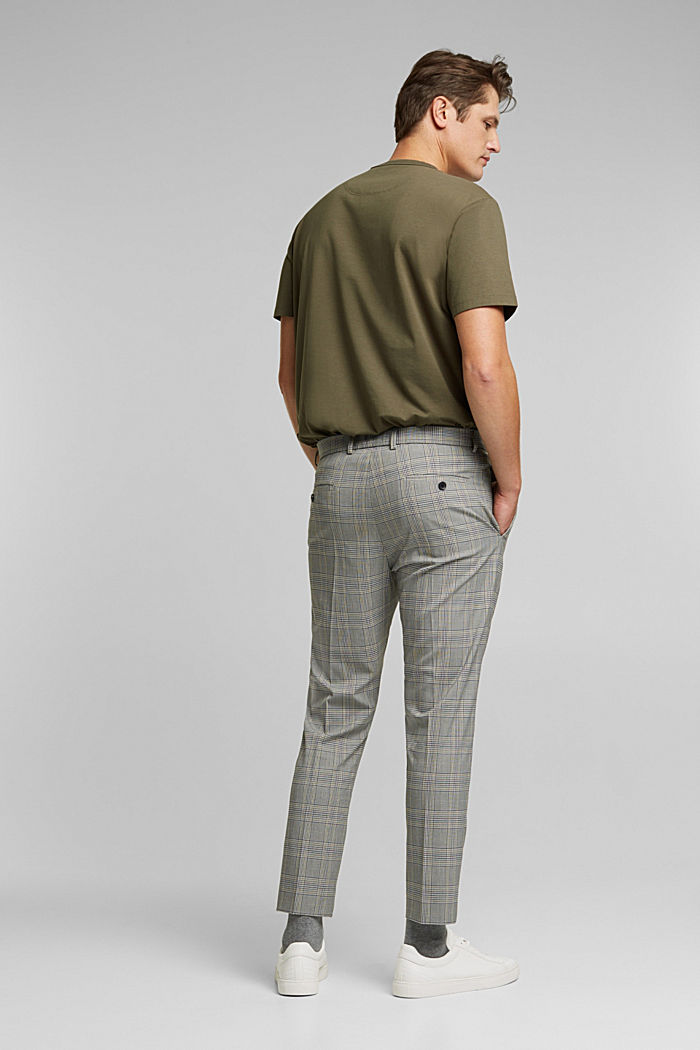 GLENCHECK Mix + Match: trousers, GREY, detail image number 1