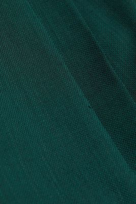 WOOL STRUCTURE Mix + Match trousers, BOTTLE GREEN, detail