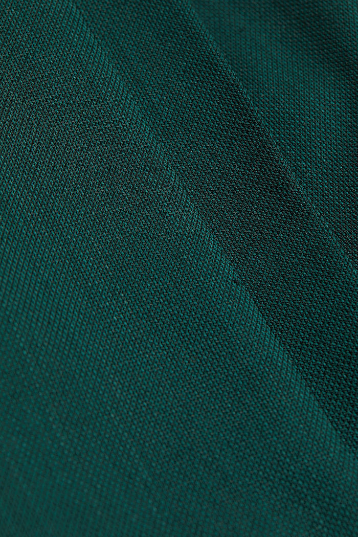 WOOL STRUCTURE Mix + Match trousers, BOTTLE GREEN, detail image number 4