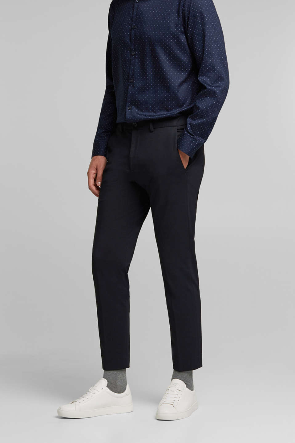 Esprit - JOGG SUIT mix + match: Broek met 3-tone look