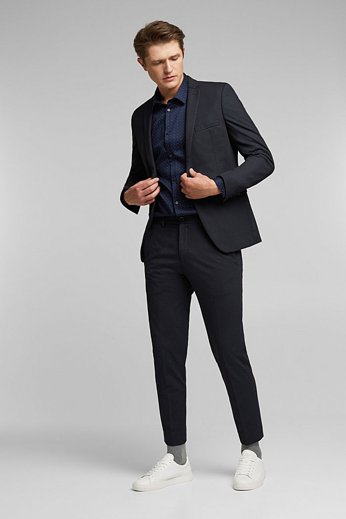 JOGG SUIT Mix + Match: Hose im 3tone-Look, BLACK, detail image number 2