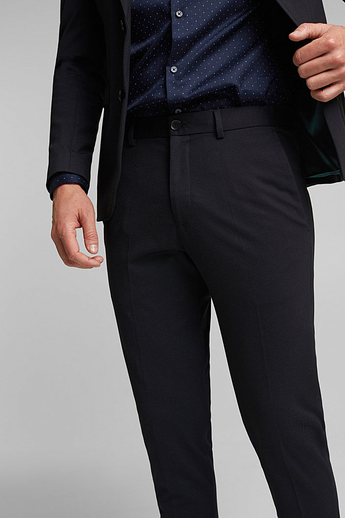 JOGG SUIT Mix + Match: Hose im 3tone-Look, BLACK, detail image number 3