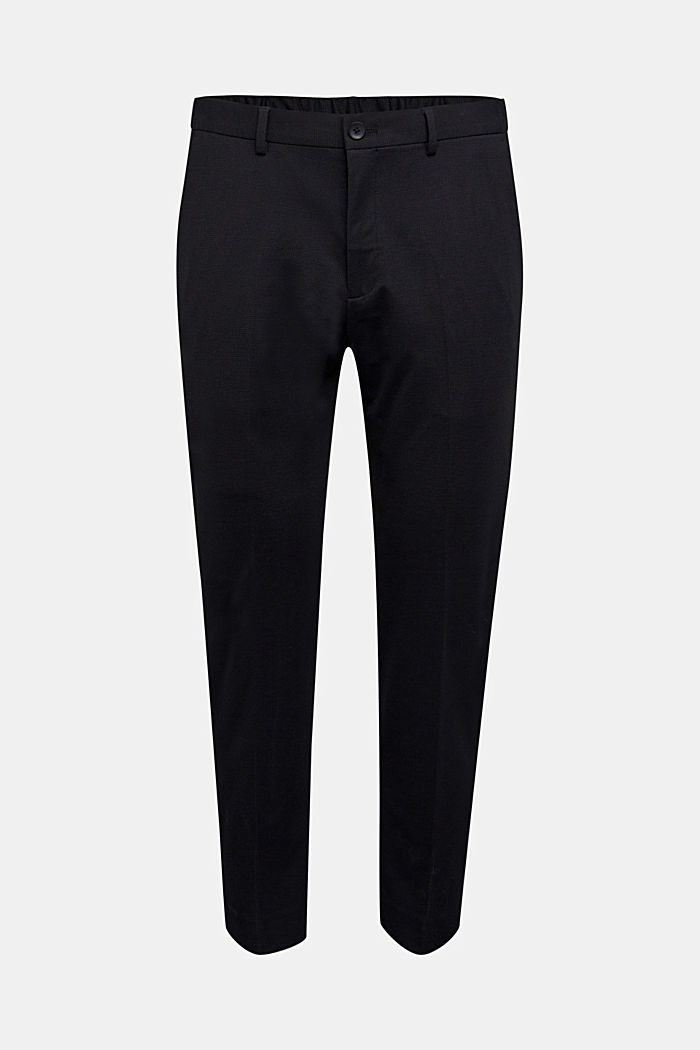 JOGG SUIT Mix + Match: Hose im 3tone-Look, BLACK, overview