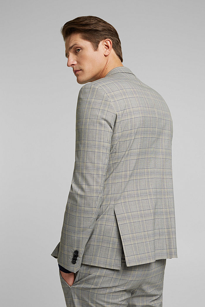 GLENCHECK Mix + Match: sports jacket, GREY, detail image number 3