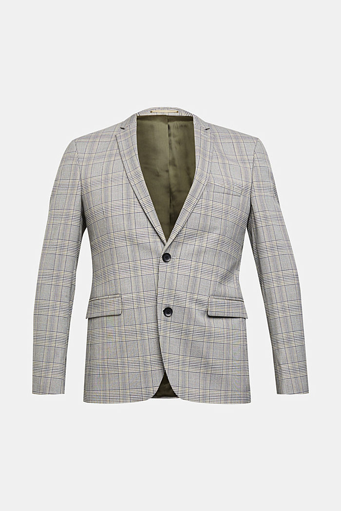 GLENCHECK Mix + Match: sports jacket, GREY, detail image number 7