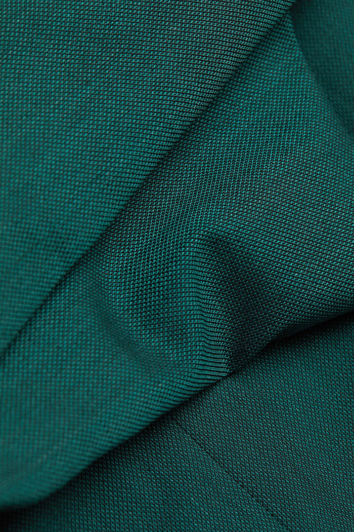 WOOL STRUCTURE Mix + Match sports jacket, BOTTLE GREEN, detail image number 4