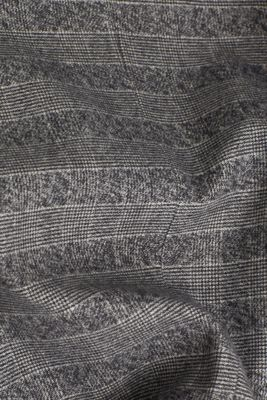 Flannel jacket with organic cotton, GREY 3, detail