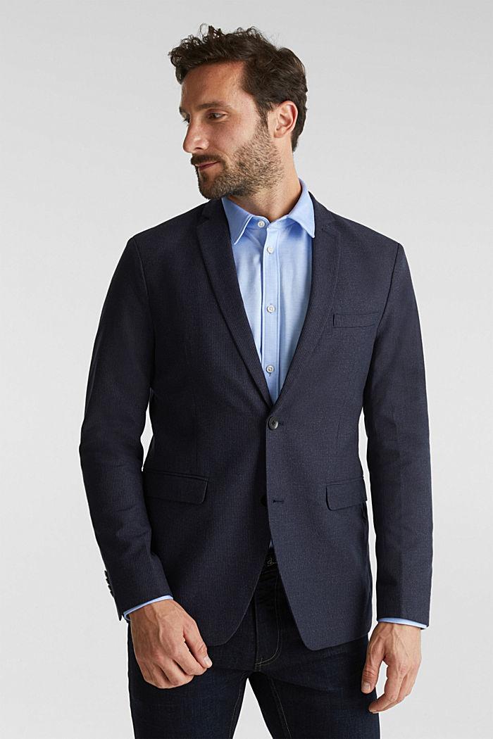 Organic cotton jacket, DARK BLUE, detail image number 0