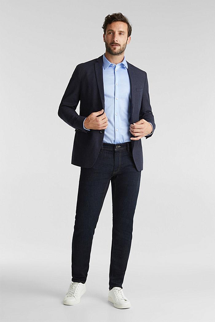 Organic cotton jacket, DARK BLUE, detail image number 1
