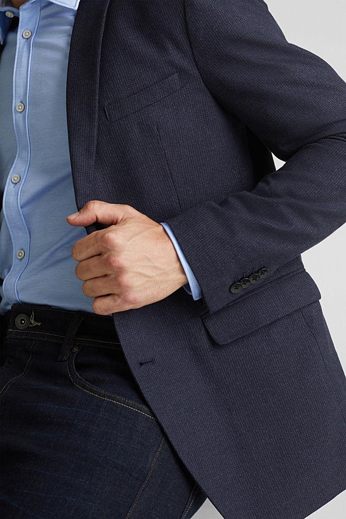 Organic cotton jacket, DARK BLUE, detail image number 2