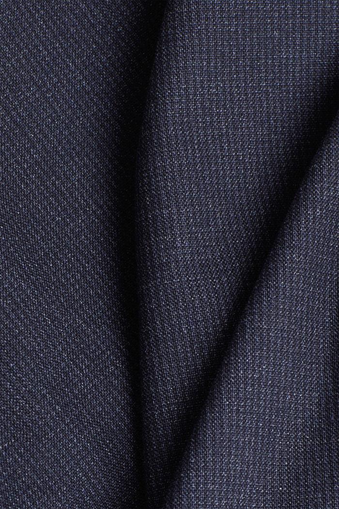 Organic cotton jacket, DARK BLUE, detail image number 4