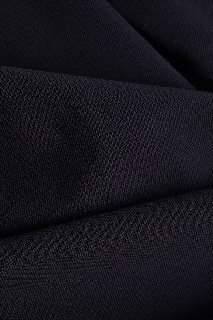 Piqué polo shirt with COOLMAX®, BLACK, detail image number 4
