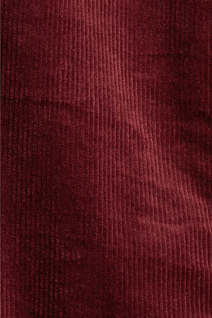 Pants woven Wide Leg High Rise, GARNET RED, detail image number 4