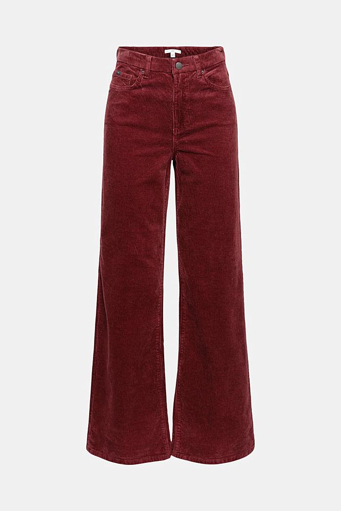 Pants woven Wide Leg High Rise