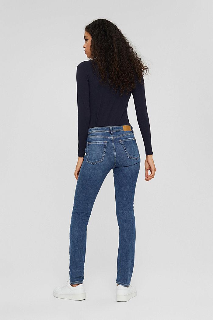 Stretch-Jeans aus Bio-Baumwolle, BLUE MEDIUM WASHED, detail image number 3