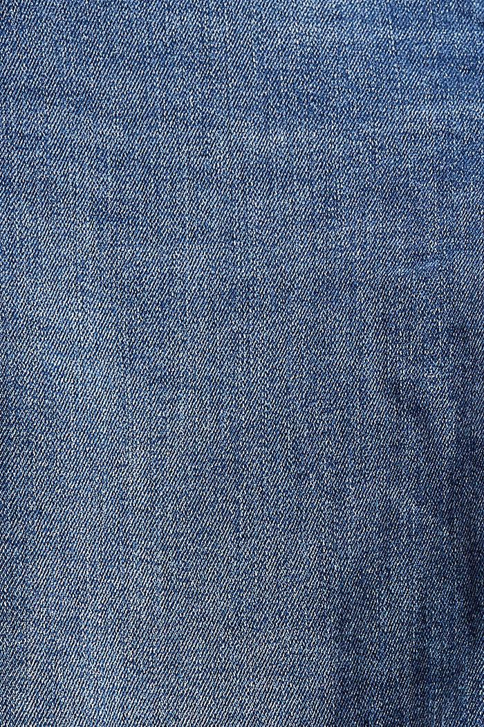 Jean stretch en coton biologique, BLUE MEDIUM WASHED, detail image number 4